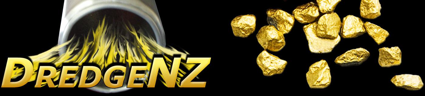 DredgeNZ - Gold Dredge & Minelab Detector Specialists logo
