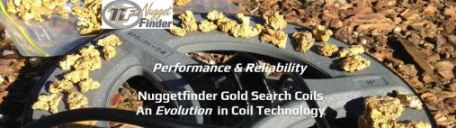 Nugget Finder Gold Search Coils