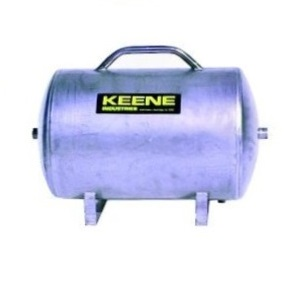 Stainless steel reserve air tank